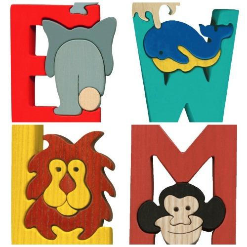 Montessori Waldorf letters puzzle | Cool Mom Picks