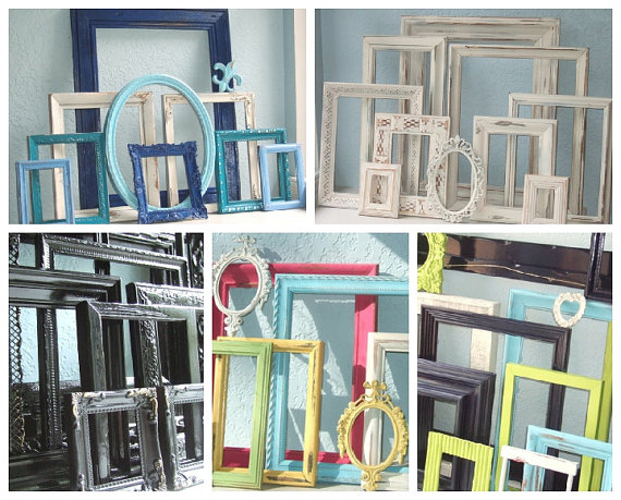 Refinished picture frames from Art of Chic | Cool Mom Picks