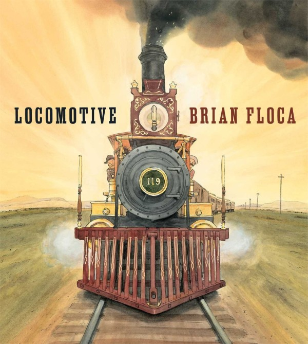 Locomotive by Brian Floca wins the 2014 Caldecott Award | Cool Mom Picks