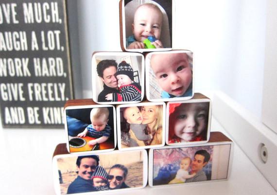 Custom photo blocks for babies | Cool Mom Picks