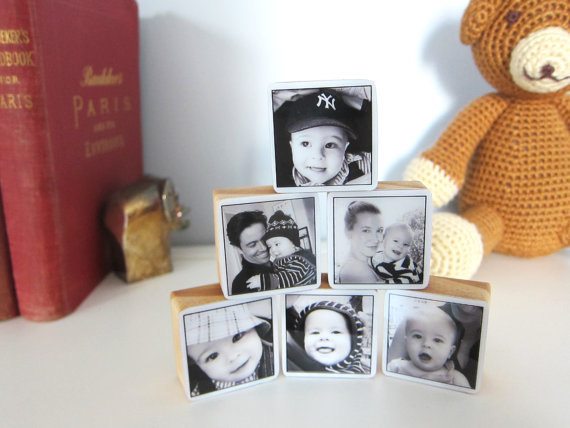 BeBe Blocks custom photo gift | Cool Mom Picks