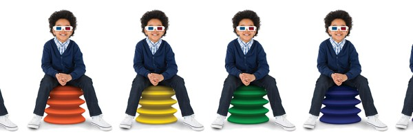 ErgoErgo kids' chair for active sitting | Cool Mom Picks