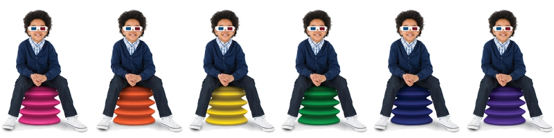 ErgoErgo kids' chair for active sitting | Cool Mom Picks