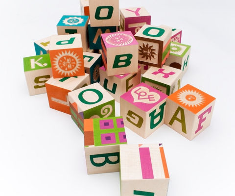 Alexander Girard Alphabet Blocks | Cool Mom Picks
