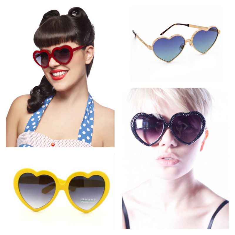 Heart-shaped sunglasses | Cool Mom Picks