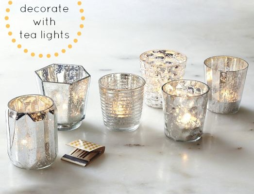 How to decorate with tea lights | Cool Mom Picks