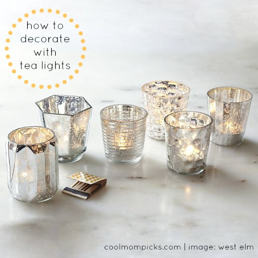 How to decorate with tea lights: creating ambience, not a shrine