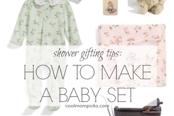 how to make a baby gift set | cool mom picks
