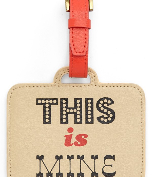 Jonathan Adler Luggage Tag | Cool Mom Picks
