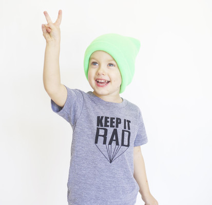 Keep it Rad Boys' Shirt | cool mom picks