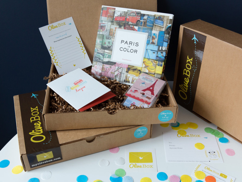 Olive Box monthly subscription boxes: no olives, but still pretty cool.