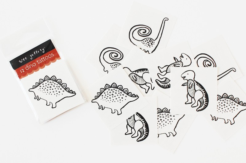 Wee Gallery Temporary Tattoos  | Cool Mom Picks