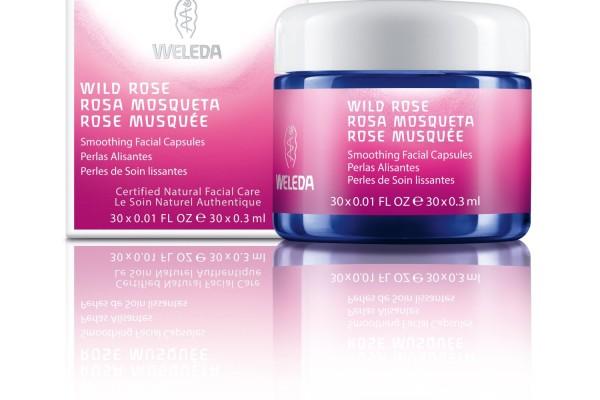 Weleda Wild Rose Facial Capsules | Cool Mom Picks