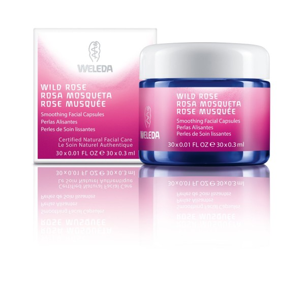 Weleda Wild Rose Facial Capsules | Cool Mom Picks