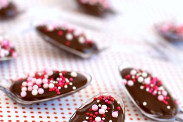 Audreys Valentines Day Chocolate Spoons | Cool Mom Picks