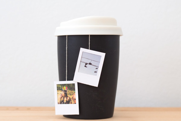 DIY Instagram Polaroid teabag | Cool Mom Picks