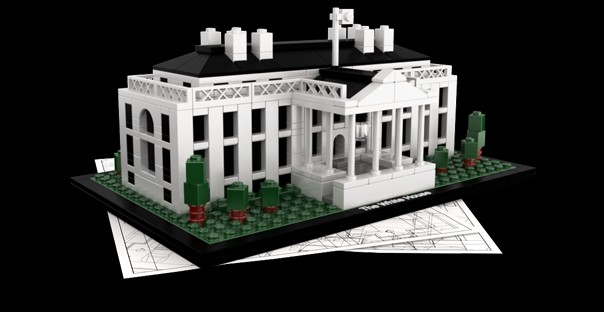 President's Day Activity: Try building the White House