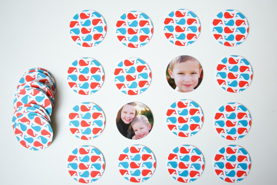 Custom photo memory game | Paper Culture