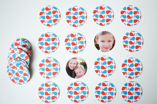 Custom photo memory game | Paper Culture