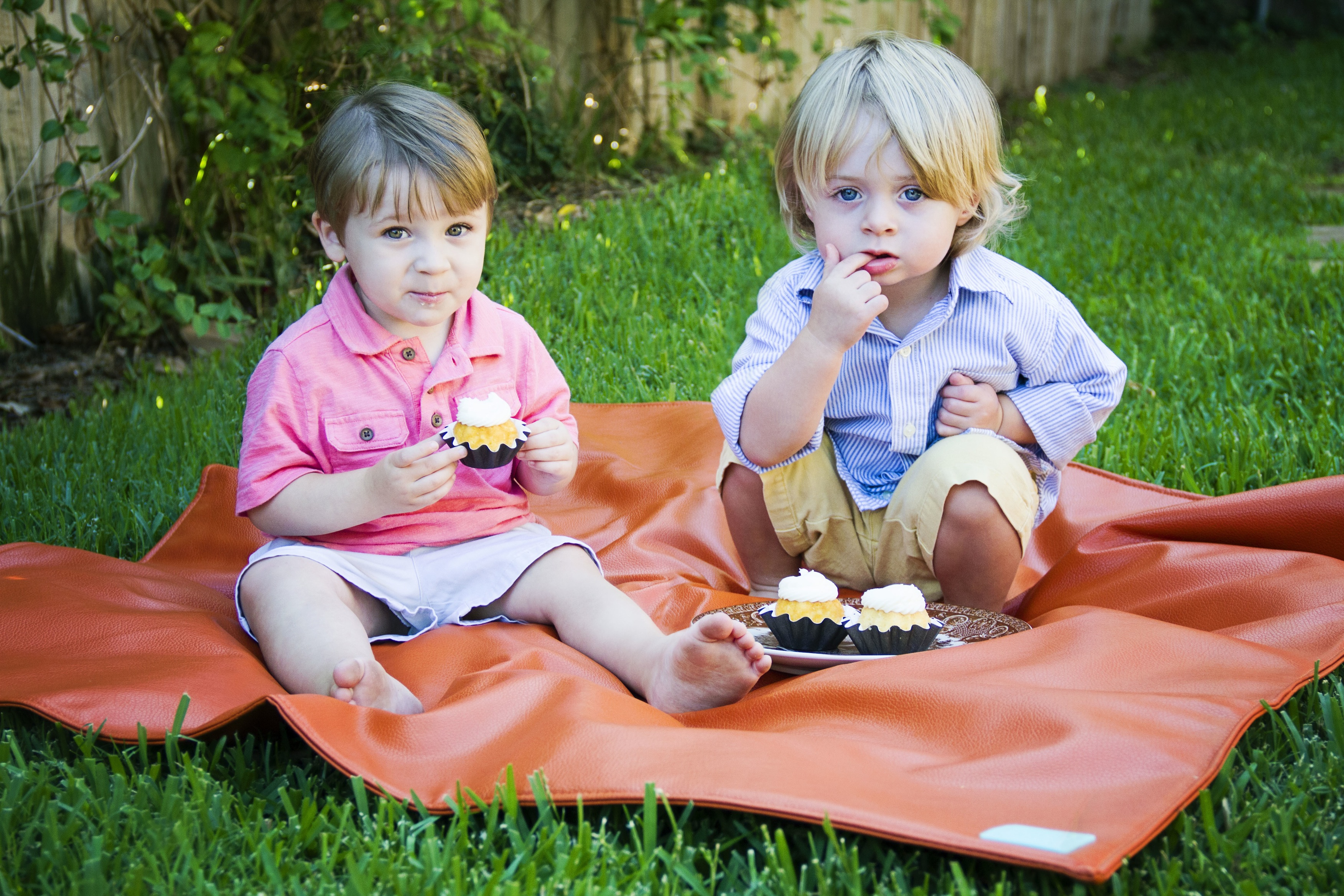Posh Play Mat as picnic blanket | Cool Mom Picks