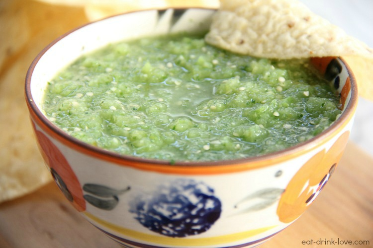 Salsa Verde from Eat Drink Love | Cool Mom Picks