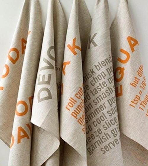 Studiopatro tea towels with quotes | Cool Mom Picks