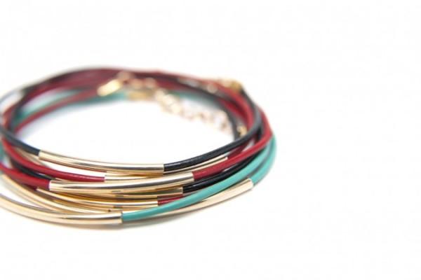Leather wrap bracelet by Btwn Wind & Water | Cool Mom Picks