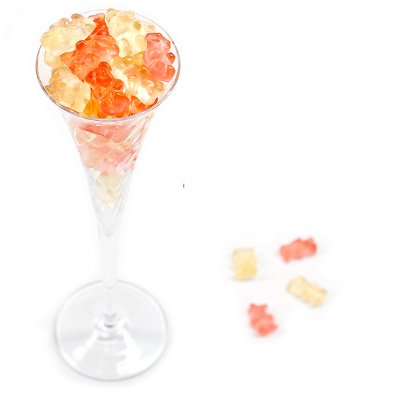Champagne Gummy Bears | Cool Mom Picks