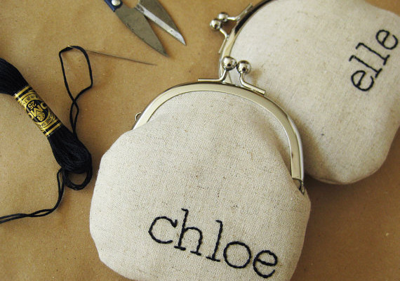 Personalized coin purse by oktak | Cool Mom Picks