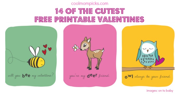 14 printable valentine's day cards for the classroom - cool mom picks, Ideas