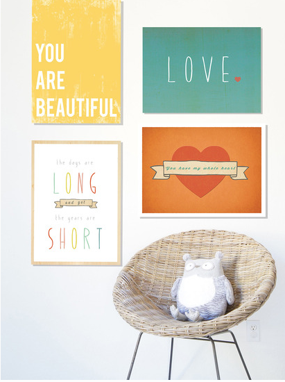 Inspirational art prints | Cool Mom Picks