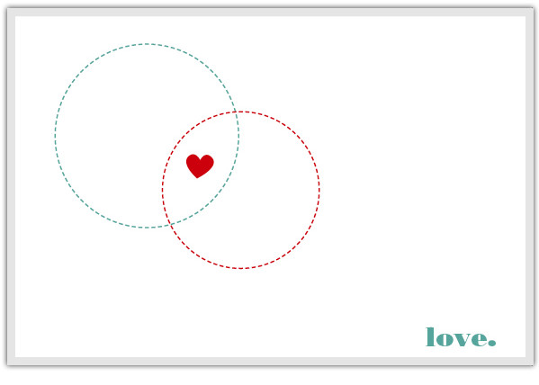 Venn Diagram Valentine's Card at SodaPop Design | Cool Mom PIcks