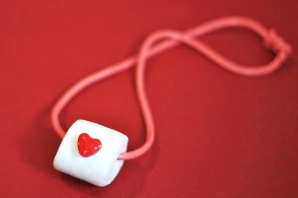 Valentines Day candy necklace | Cool Mom Picks