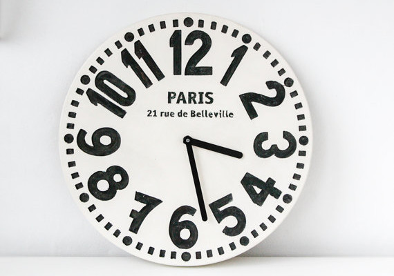 Paris wall clock | Cool Mom Picks