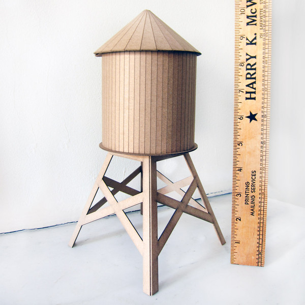 Brooklyn Makers water tower building kit | Cool Mom Picks