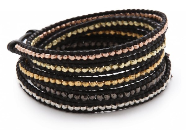 Chan Luu leather wrap bracelet | Cool Mom Picks
