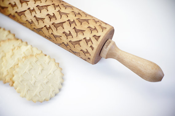 Custom embossed rolling pins from Valek  | Cool Mom Picks