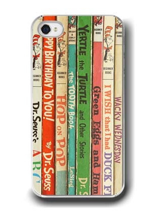 Dr-Seuss-vintage-books-iPhone-cover