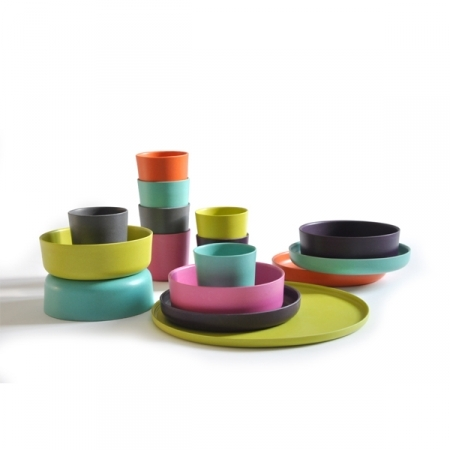 Ekobo kids bamboo dinnerware | Cool Mom Picks