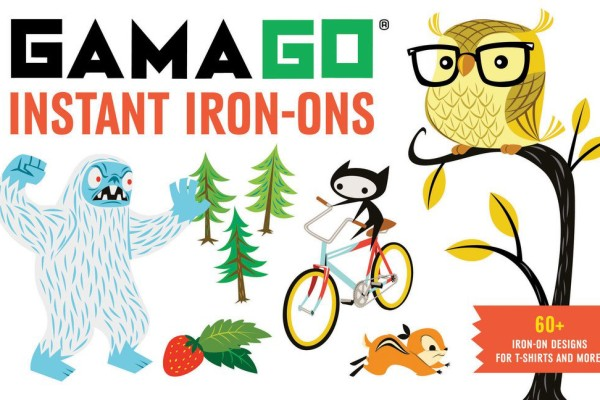 Iron-on transfers by GamaGo | Cool Mom Picks