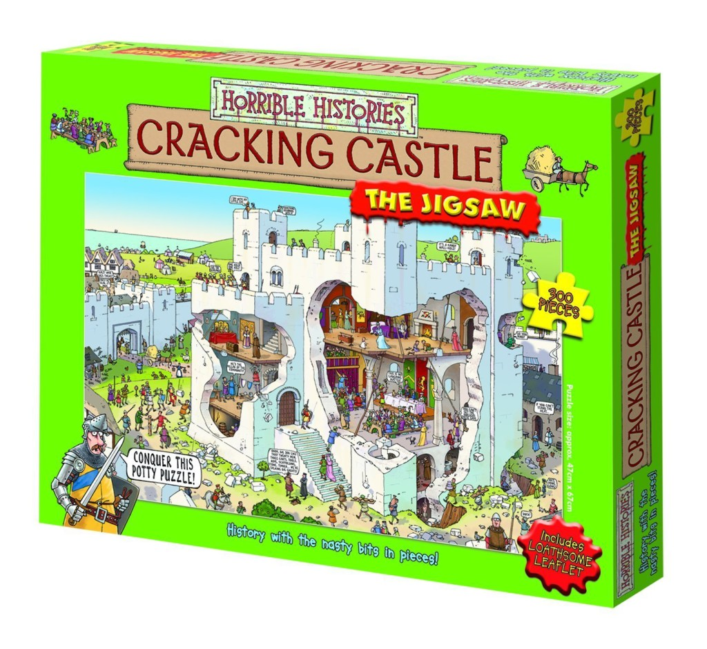 Horrible Histories puzzle - Cracking Castle | Cool Mom Picks