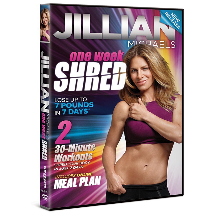 Jillian Michaels One Week Shred | review on Cool Mom Picks