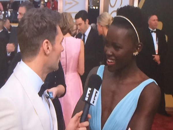 Lupita Nyong'o Headband Oscars 2014 Red Carpet | Cool Mom Picks
