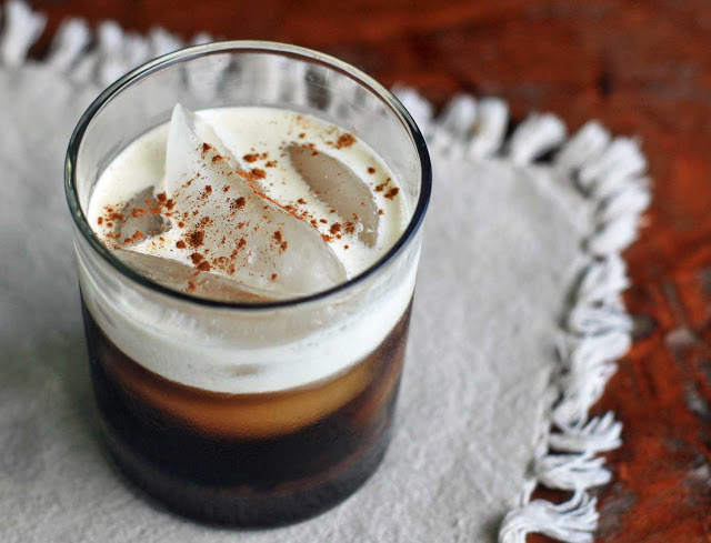 Mexican iced coffee recipe at Girl Cooks World