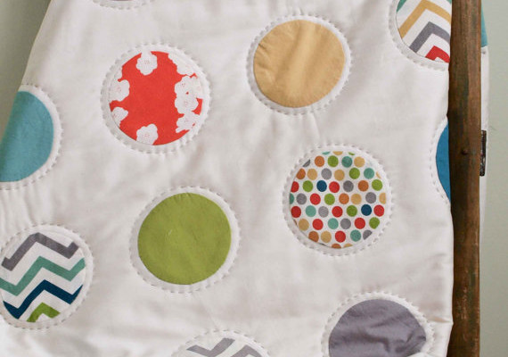 Modern Organic Baby Blankets from Organic Quilt Company | Cool Mom Picks