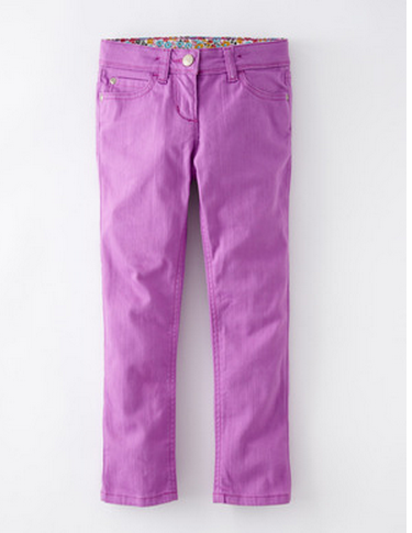 Pantone Orchid: Twill girls' jeans at Boden | Cool Mom Picks