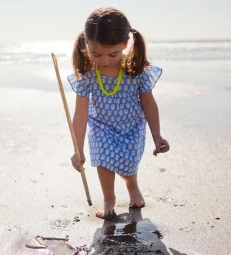 Spring clothing for kids: Cap Sleeve Dress by Rikshaw Design   Cool Mom Picks