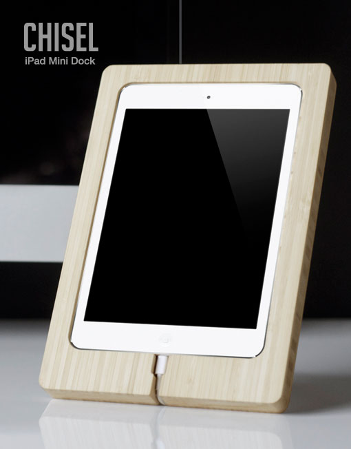 Spring clean your desk - Chisel iPad Mini Dock | Cool Mom Picks