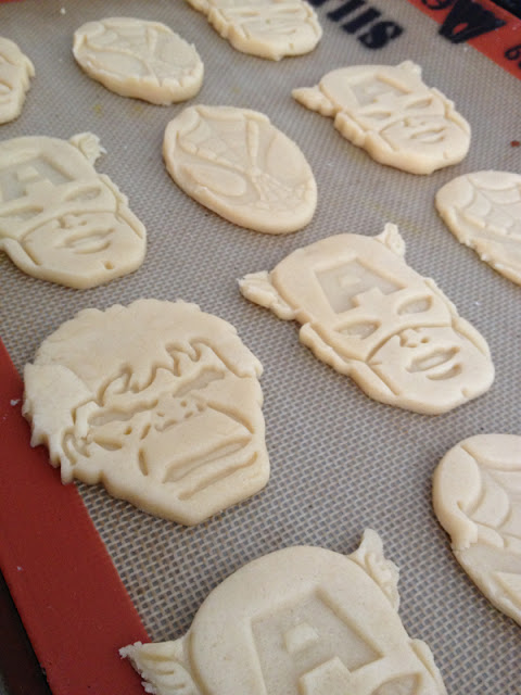 Superhero cookies at Less Than Perfect Life | Cool Mom Picks