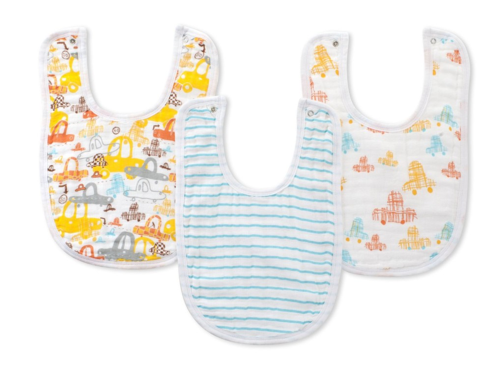Zutano and Aden+ Anais Baby Bibs | Cool Mom Picks